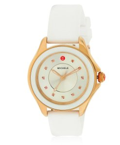 Michele Silicone Stainless Steel Cape MWW27A000004 Watch