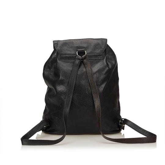 Prada 8cprbp003 Vintage Leather Backpack Image 2