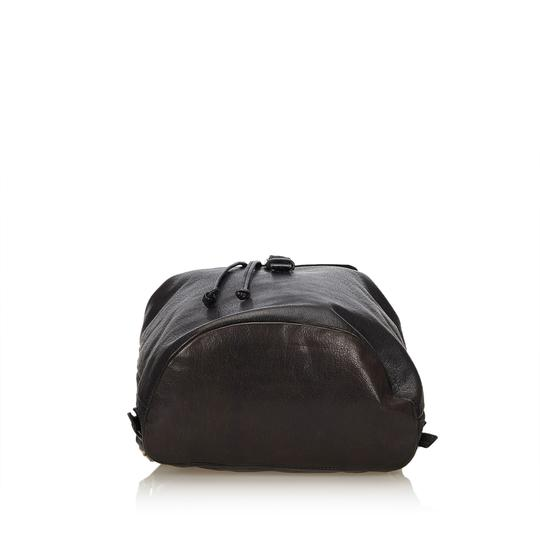 Prada 8cprbp003 Vintage Leather Backpack Image 3