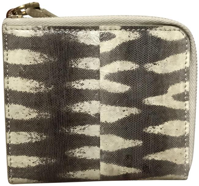 Item - Black and Off-white Little Tiger Snake Coin Purse Wallet