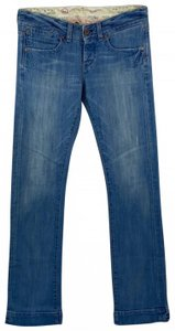 AG Adriano Goldschmied Designer Lowrise Boot Cut Jeans-Distressed