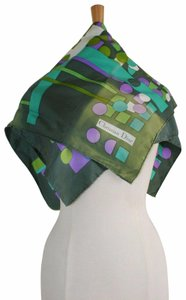 Dior Dior abstract print silk scarf/accessory