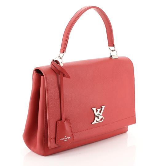 Louis Vuitton Leather Lockme Ii Satchel in RED Image 1