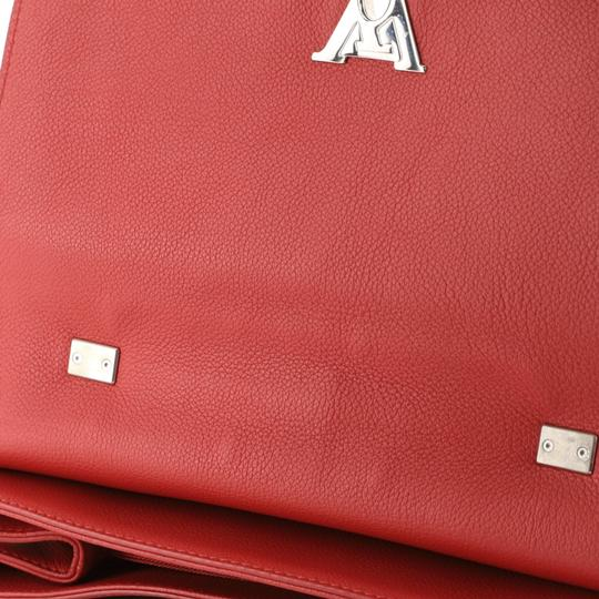Louis Vuitton Leather Lockme Ii Satchel in RED Image 4