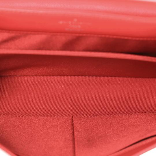Louis Vuitton Leather Lockme Ii Satchel in RED Image 6