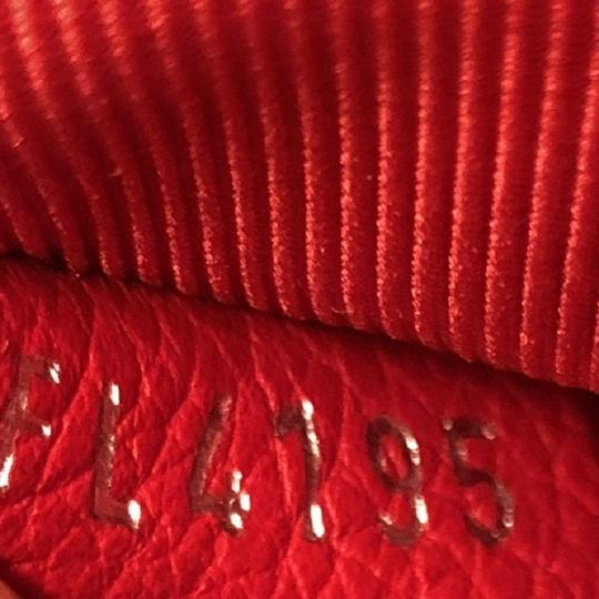 Louis Vuitton Leather Lockme Ii Satchel in RED Image 7