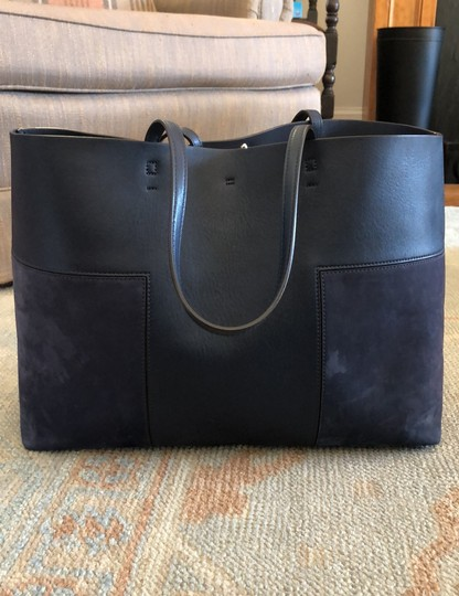 Tory Burch Tote in Navy Image 3