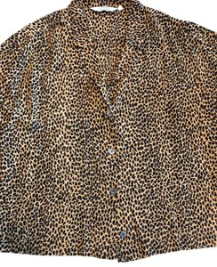 &other Stories Top leopard print