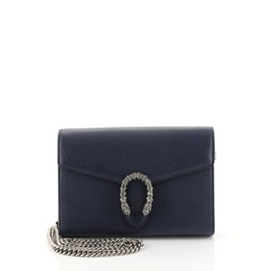 Gucci Dionysus Chain Wallet Leather Cross Body Bag