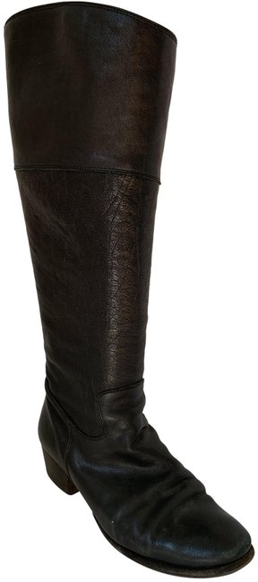 Item - Brown Leather Riding Boots/Booties Size EU 37.5 (Approx. US 7.5) Regular (M, B)