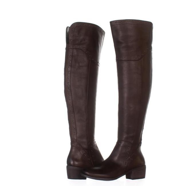 Item - Brown Bestan Studded Over The Knee 812 Carob Boots/Booties Size US 6 Regular (M, B)