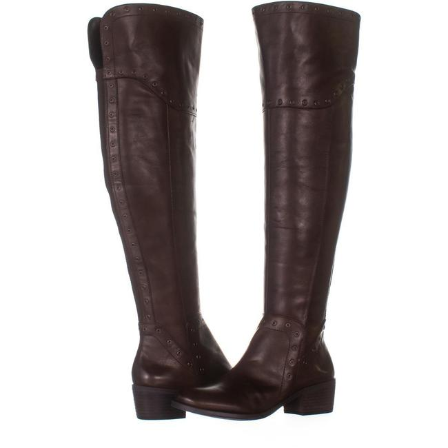 Item - Brown Bestan Studded Over The Knee 003 Carob Boots/Booties Size US 6.5 Regular (M, B)