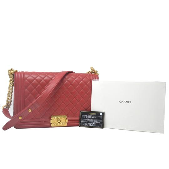Chanel Cc Boy Shoulder Bag Image 10