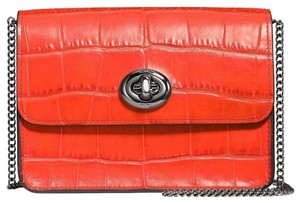 Coach Deep Coral Messenger Bag