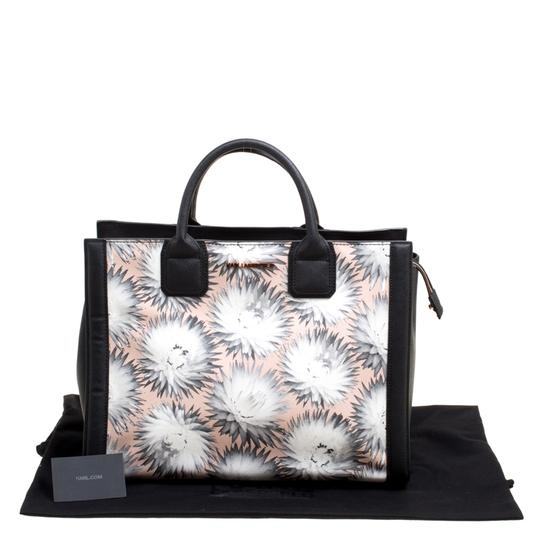 Karl Lagerfeld Leather Canvas Tote in Multicolor Image 10