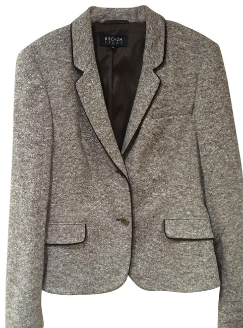 Item - Brown Tweed Sport Blazer Size 12 (L)