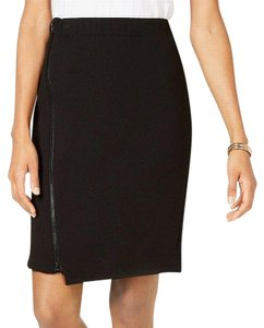Nine West Zip Work Office Skirt black