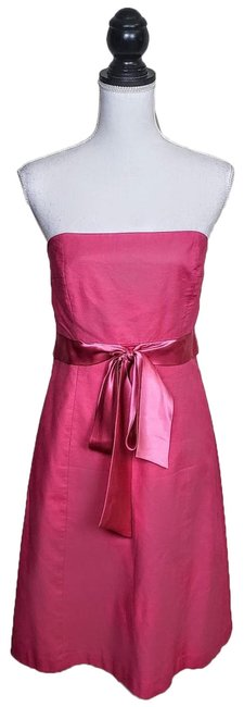 Item - Pink Mid-length Cocktail Dress Size 6 (S)