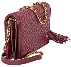 Tory Burch Fleming Quilted Cross Body Bag