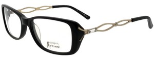 Guess By Marciano GM157-BKGLD-53 Eyeglasses Size 53mm 16mm 135mm Black