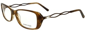 Guess By Marciano GM157-E71-53 Eyeglasses Size 53mm 16mm 135mm Brown Horn