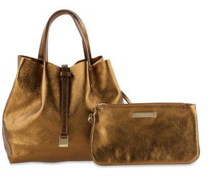 Tiffany & Co. Reversible Bronze Tote in Brown