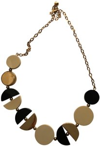Kate Spade Kate Spade black, white and gold deco. necklace
