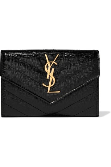 Preload https://img-static.tradesy.com/item/25941399/saint-laurent-quilted-textured-leather-wallet-0-0-540-540.jpg