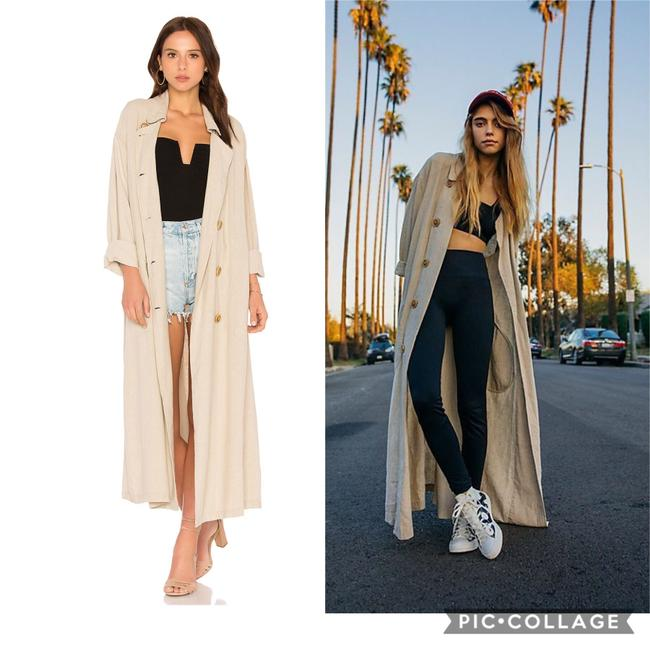 Free People Trench Coat Image 5