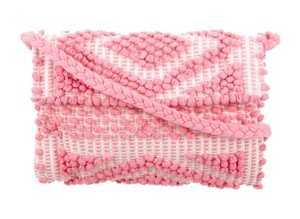 Antonello Pink Clutch