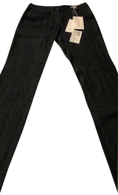 Item - Blue Women's Decorative Stitched Straight Leg Jeans Size 27 (4, S)