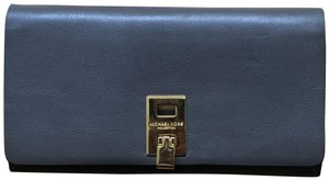 Michael Kors Collection Michael Kors Collection Bancroft Continental Calf Leather/Suede Wallet