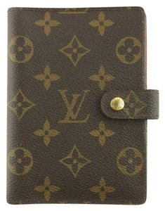 Louis Vuitton Monogram Canvas Small Ring Agenda PM Cover R20005