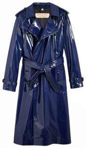 Burberry Women's Patent Canvas Raincoat
