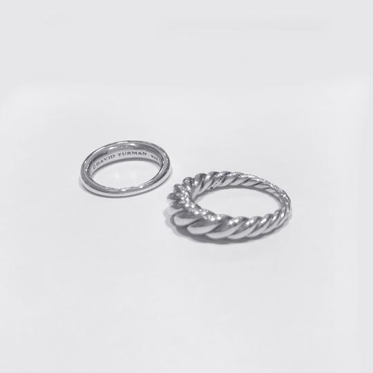 David Yurman Pure Form Stack Rings Image 2