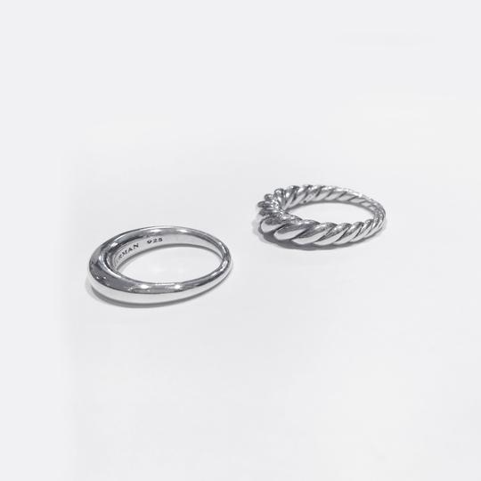 David Yurman Pure Form Stack Rings Image 3