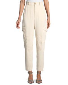 See by Chloé Cargo Pants beige