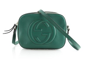 Gucci Calkskin Leather Cross Body Bag