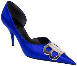 Balenciaga Pigalle Follies Stiletto Glitter Classic blue Pumps