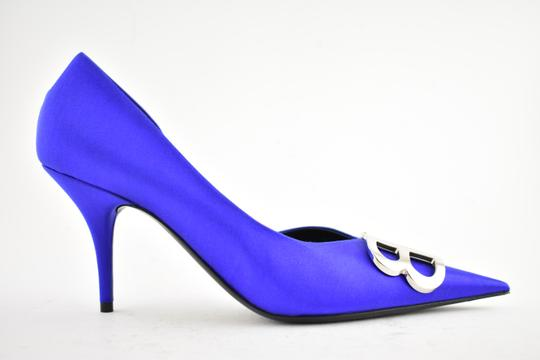 Balenciaga Pigalle Follies Stiletto Glitter Classic blue Pumps Image 1