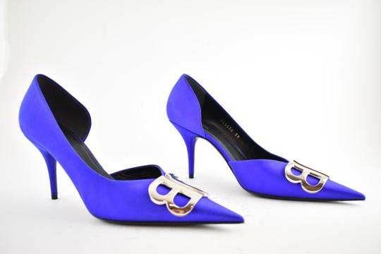 Balenciaga Pigalle Follies Stiletto Glitter Classic blue Pumps Image 3