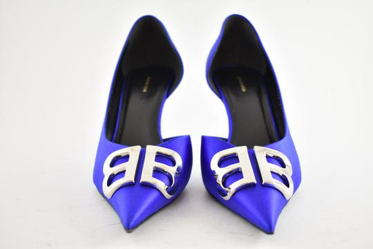 Balenciaga Pigalle Follies Stiletto Glitter Classic blue Pumps Image 6
