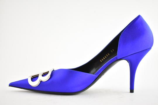 Balenciaga Pigalle Follies Stiletto Glitter Classic blue Pumps Image 8
