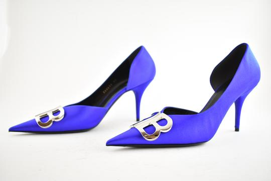 Balenciaga Pigalle Follies Stiletto Glitter Classic blue Pumps Image 9