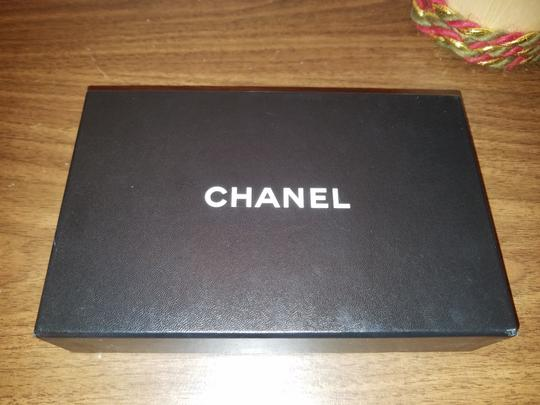 Chanel CHANEL VINTAGE CREME YELLOW LONG WALLET CLUTCH Image 3