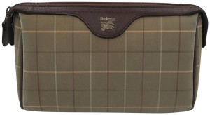 Burberry Burberry brown cosmetic bag VINTAGE