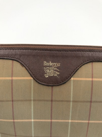 Burberry Burberry brown cosmetic bag VINTAGE Image 1