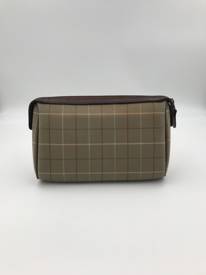 Burberry Burberry brown cosmetic bag VINTAGE Image 2