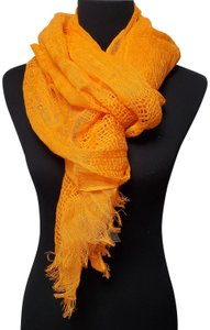Vince Camuto 100% Linen Scarf Knitted