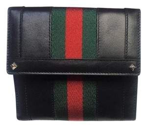 Gucci Gucci leather three fold wallet